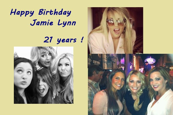 HAPPY BIRTHDAY JAMIE LYNN !!