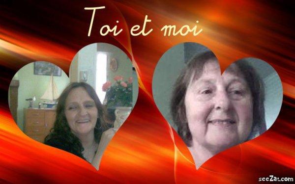 magnifique kdo de ma soeur de coeur Rita