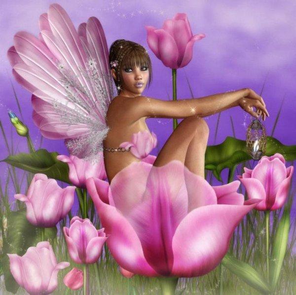 je vous souhaite une bonne fin d aprés midi et bon début de soirée avec un magnifique kdo de mon amie bella37014