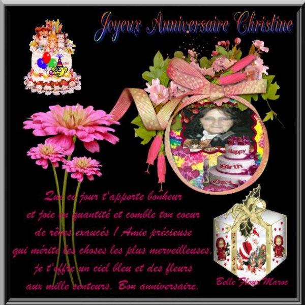 merci mon amie BelleFleur Maroc pour ces sublimes kdos d anniversaire