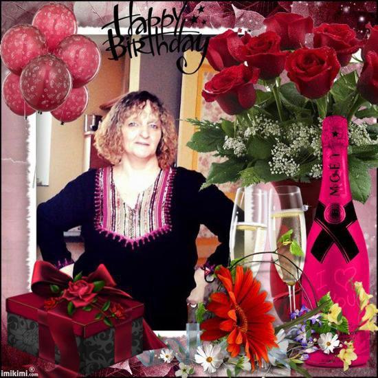 je vous souhaite un bon mercredi avec des magnifiques créas de mes amies pour mon anniversaire