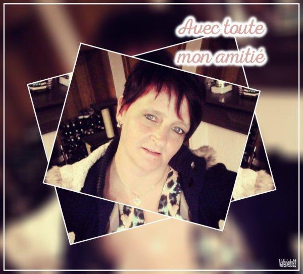 merci mon amie Valérie92 pour ce joli kdo et de cette magnifique amitié gros bisous du coeur