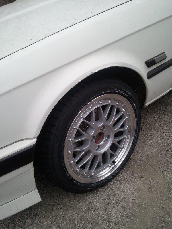 Réception des pneus avant marque FULDA