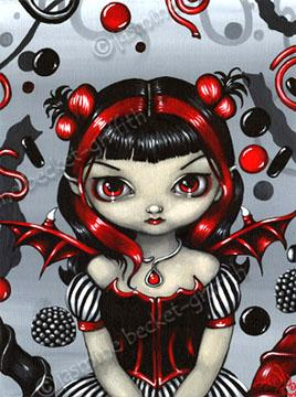 My dark deliriums make me dream ....