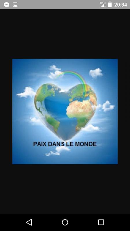 2016 Paix Dans Le Monde