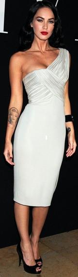 Megan Fox au défilé haute couture de Armani