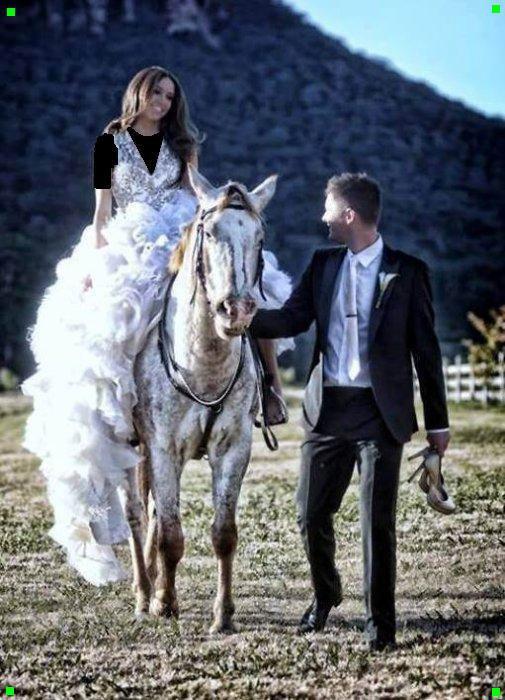 ----------=o(  Elle recherche le prince charmant avec un chevalier servant de couleur noir et blanc  )o=----------