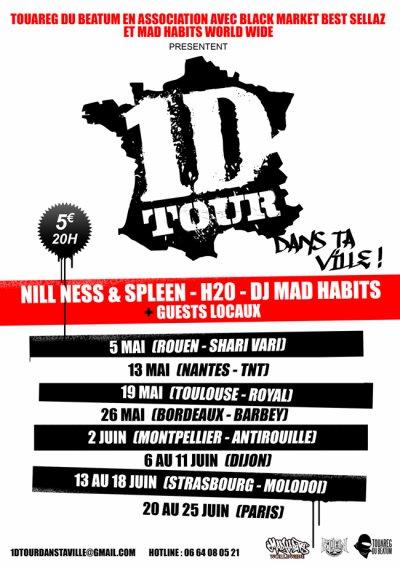 1 D TOUR DANS TA VILLE