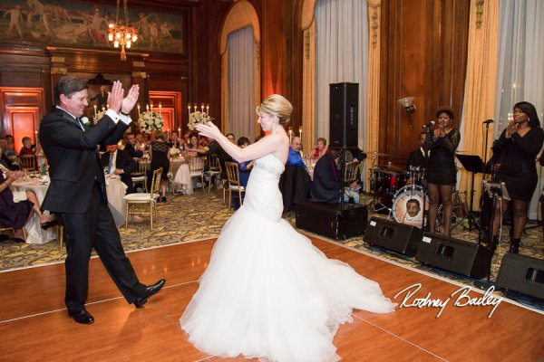 Army and Navy Club wedding Washington DC