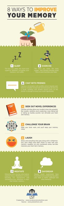8 Ways to Improve Your Memory