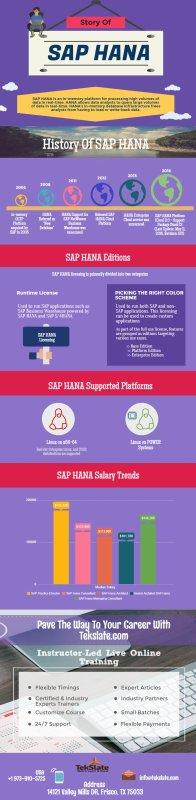 History of SAP HANA