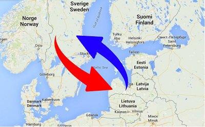 Transport Sverige Lettland