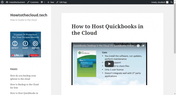 How to Host Quickbooks in the Cloud