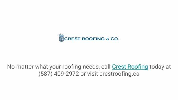 Crest Roofing - Edmonton AB, Canada