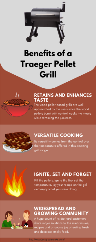Benefits of a Traeger Pellet Grill