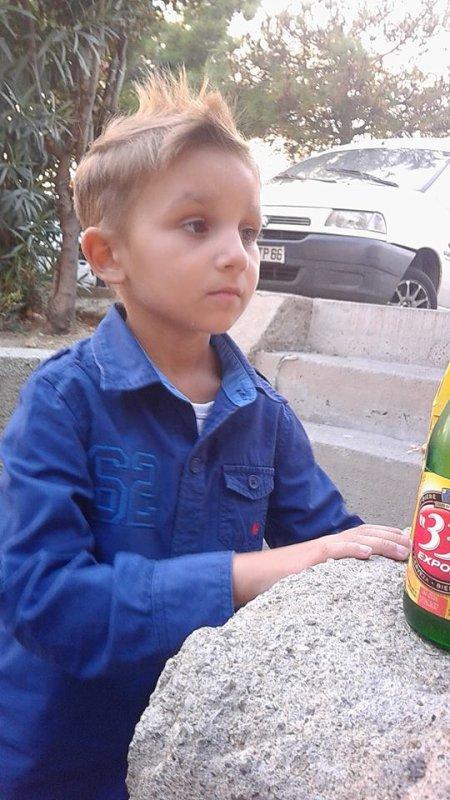 mon kelian avec sa biere