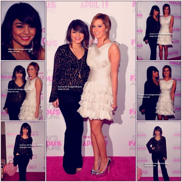 Vanessa et Ashley ! De bonne Retrouvaille :D ;) ! Un TOP ? ♥