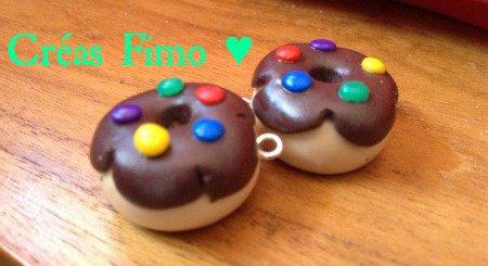 #26 Boucle d'oreilles donut. ♥