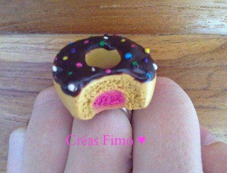 #29 Bague donut croqué. ♥