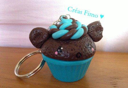#32 Porte-clé cupcake. ♥