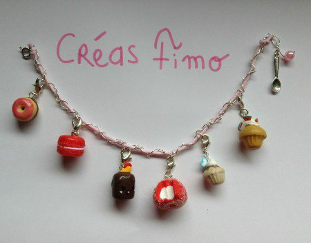 #58 Bracelet charm' ♥