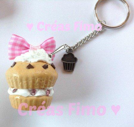 #59 Porte-clé cupcake. ♥