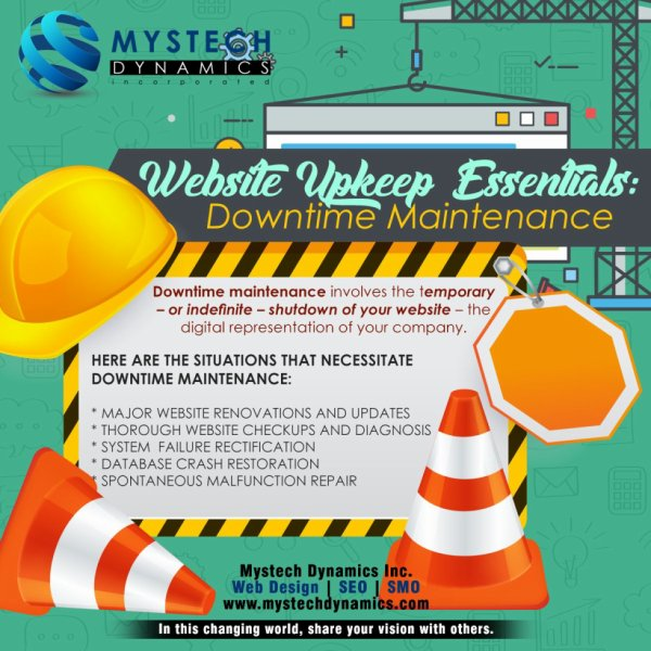 Website Upkeep Essentials: Downtime Maintenance