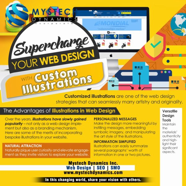 Supercharge your Web Design with Custom Illustrations