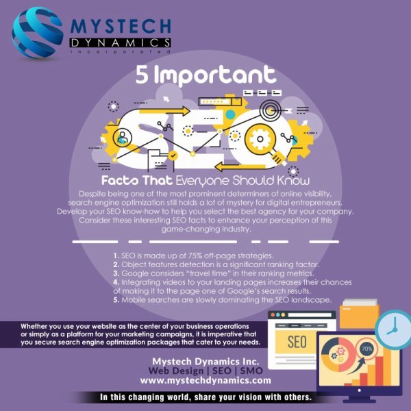 5 Important SEO Facts that Everyone Should Know