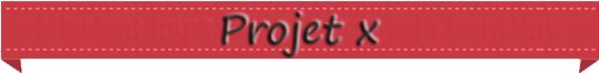 • Projet X •