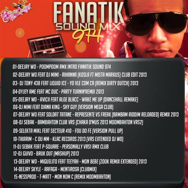 ★ DEEJAY WO présente la compile FANATIK SOUND 974 ★