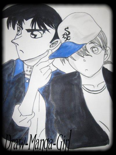 Détective Conan: Shinichi Kudo& Heiji Hattori