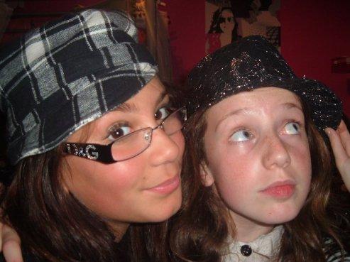 Lauralie  et ma Brunasse