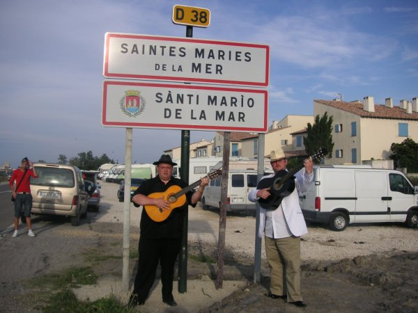 Pélirinage st Marie de la Mer 2012 Joseph et Marco