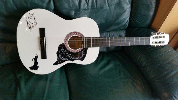 Ma nouvelle guitare Olléeeeee