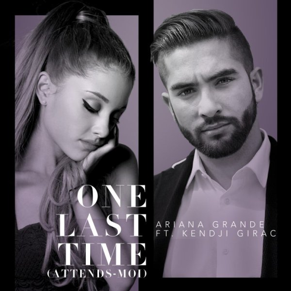 Ariana Grande - One Last Time (Attends-Moi) (Lyric Video) ft. Kendji Girac
