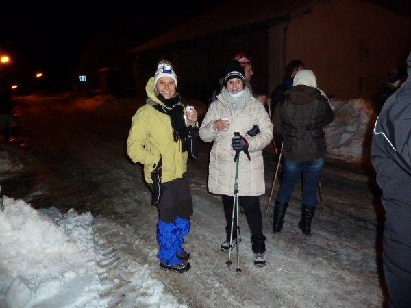 Petite marche nocturne dans le Haut Doubs !!!!