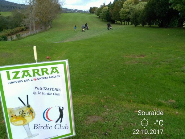 Golf de Souraide le 22 Octobre 2017  Pays Basque