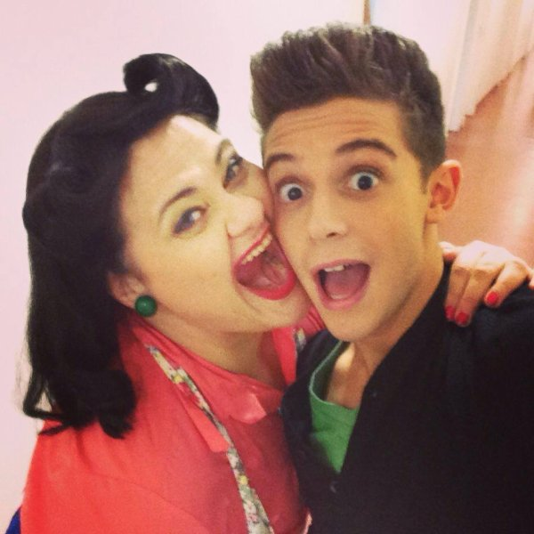 Ruggero a poste sa : Selfie con Mirta <3 :p