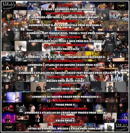 """Mixtape """"02 prod"""" disponible en libre téléchargement depuis le 22/11/10"""
