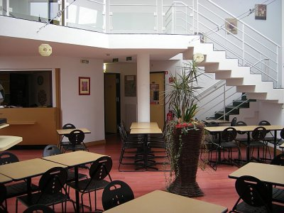 Le Hall, La salle Petits Déjeuners, La Réception
