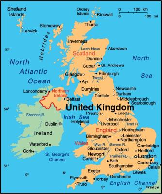 carte royaume uni en anglais Carte Royaume Uni   Ancien TC1 d'Agritec