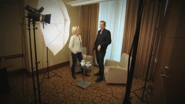 Garou en interwiev en Pologne