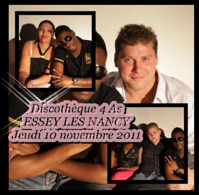 Jessy MATADOR au 4 AS le Jeudi 10 novembre 2011