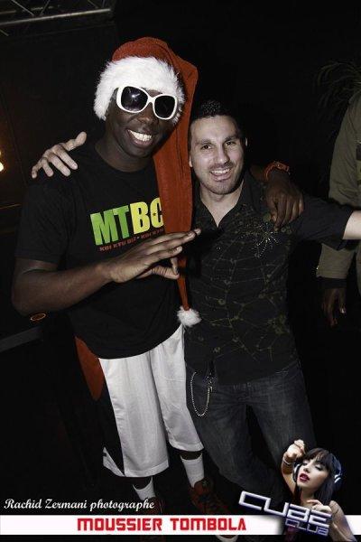 Moussier Tombola avec le frère d'Alex :)