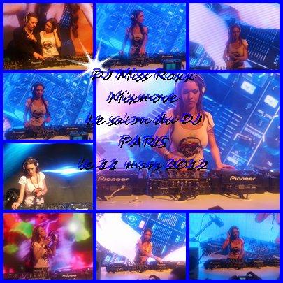 DJ Miss Roxx au Discom le 11 mars 2012