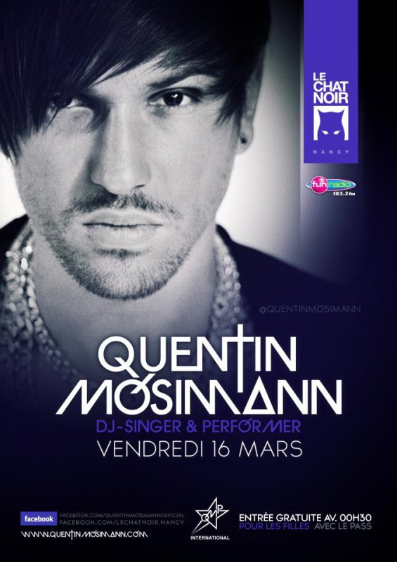 Quentin MOSIMANN au Chat Noir le 16 mars 2012 ;)