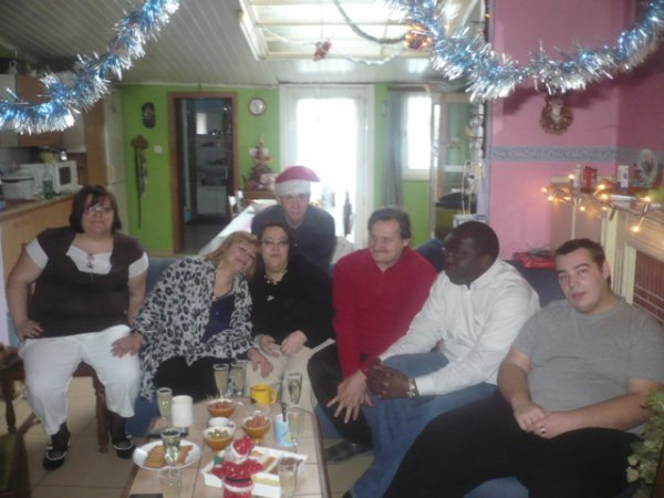 Noël 2010 avec nos meilleurs ami(e)s