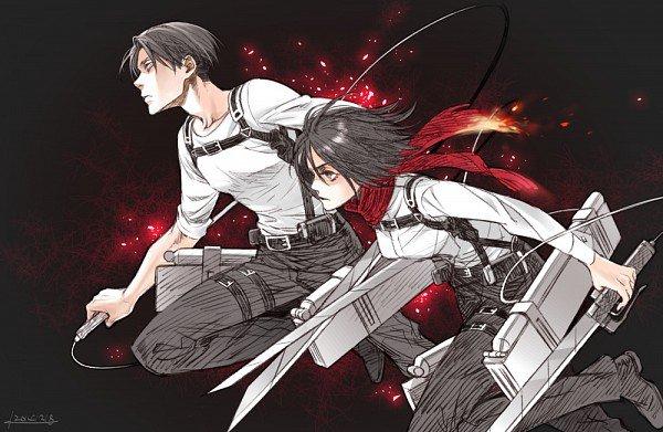 Commande n°1 : Shingeki No Kyojin