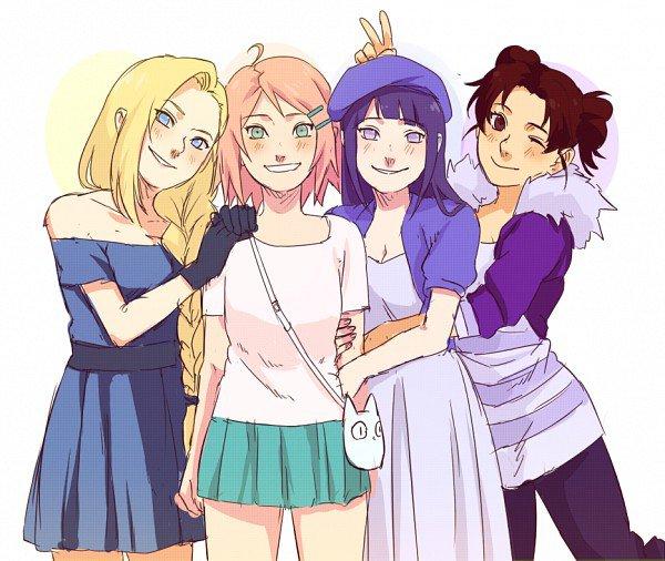 Article spécial : les filles de Naruto